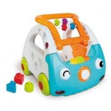 Интерактивный развивающий центр 3 в 1 Sensory Мой автомобиль
