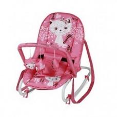 Кресло-качалка Lorelli (Bertoni) Top Relax Kitten, розовый (18288)