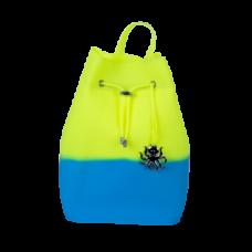 Рюкзак силиконовый Tinto, М, салатово-голубой (BP22.40)
