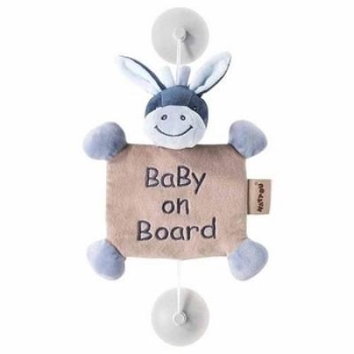Игрушка Nattou Ребенок на борту Ослик Алекс (321341)