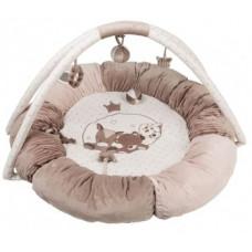 Развивающий коврик с дугами и подушками Nattou Макс, Ноа и Том (777322)