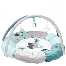 Развивающий коврик с дугами и подушками Nattou Джек, Юлий и Нестор (843270)