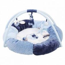 Развивающий коврик с дугами и подушками Nattou Алекс и Бибу (321259)