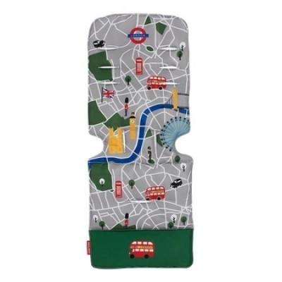 Универсальный матрас для коляски Maclaren, London City Map, мультиколор (AM1Y031882)