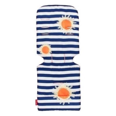 Универсальный матрас для коляски Maclaren, Sunshine Stripe, сине-белый (AM1Y031892)