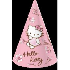 Колпаки бумажные Eventa Hello Kitty Магнолия, розовый, 6 шт.