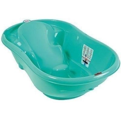 Детская ванночка OK Baby Onda New Style с термодатчиком, зеленый, 93 см (38237240)