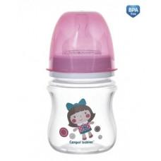 Антиколиковая бутылочка Canpol babies Easystart Toys, 120 мл (35/220 Розовый)