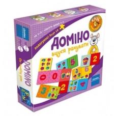Настольная игра Granna Домино. Учусь считать, укр. язык (82500)