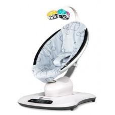 Кресло-качалка 4Moms MamaRoo Silver Plush RS