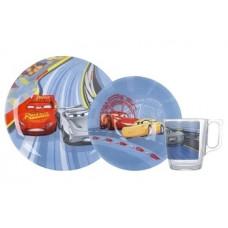 Набор посуды Luminarc Disney Cars 3, 3 шт. (N5280)