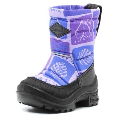 Зимние сапоги Kuoma Путкиварси, р.22, фиолетовый (130356-5674)
