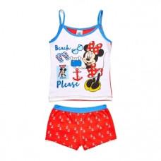 Комплект Disney Минни Маус, хлопок, 8 лет, красный (WD11007)