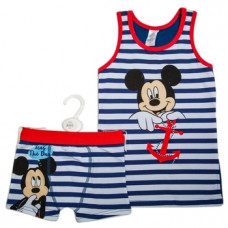 Комплект Disney Микки Маус, хлопок, 2 года, синий (WD11051)