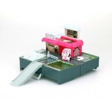 Игровой набор Robocar Poli Гараж и мини трансформер Эмбер (83363)