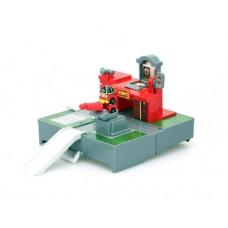 Игровой набор Robocar Poli Гараж и мини трансформер Рой (83364)