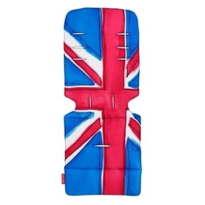 Универсальный матрас для коляски Maclaren Union Jack Princess Blue, синий (AM1Y031872)