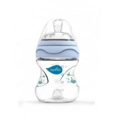 Бутылочка для кормления Nuvita Mimic, 150 мл, голубой (NV6010Blue)