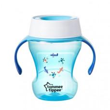 Чашка-непроливайка 360° Tommee Tippee, 230 мл, голубой (30063)