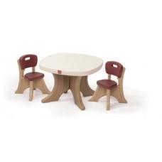 Набор: стол и два стула Step 2 Table & Chairs Set (896800)
