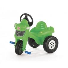Детский велосипед-трактор с педалями Step 2, зеленый (717600)