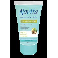 Cкраб для лица Novita Make Up&Care, 150 мл