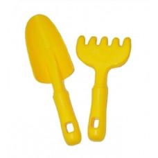 Лопатка и грабли Simba, желтый (710 1141/1135)