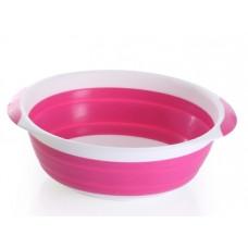 Тазик складной Babyhood, розовый (BH-708P)