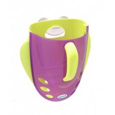 Органайзер для игрушек в ванную Babyhood, фиолетовый с зеленым (BH-706P)