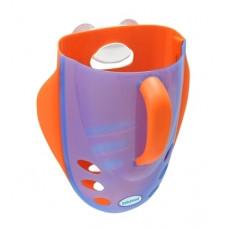 Органайзер для игрушек в ванную Babyhood, голубой с оранжевым (BH-706B)
