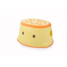 Ступеньки в ванную Babyhood Утенок, желтый (BH-508Y)
