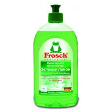Средство для мытья посуды Frosch Зеленый лимон, 500 мл