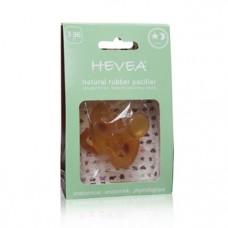 Анатомическая пустышка Hevea Star and Moon, 3+ мес. (HEVSTAR3+)