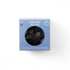 Игрушка-прорезыватель Hevea Planet Star Ball, из каучука, черный (HEVCTBBLAC)