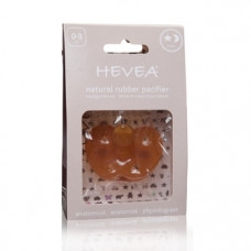 Анатомическая пустышка Hevea Star and Moon, 0-3 мес. (HEVSTAR0-3)