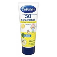 Солнцезащитное молочко Bubchen SPF 50+, 100 мл