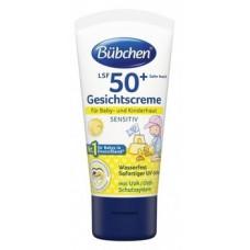 Солнцезащитное молочко Bubchen SPF 50+, 50 мл