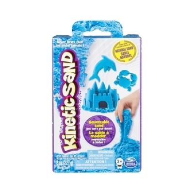 Песок для детского творчества Wacky-Tivities Kinetic Sand Neon, 227 г, голубой (71423B)