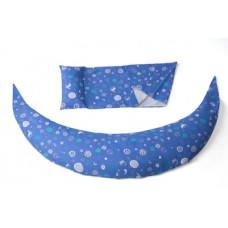 Подушка для беременных и кормления Nuvita 10 в 1 DreamWizard, синий (NV7100Blue)