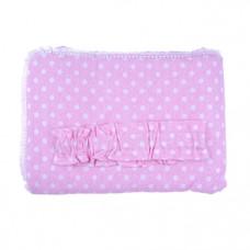 Конверт-плед Сім Слонів Меланж, 90х90 см, розовый (20117)