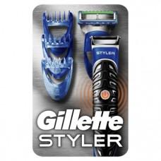 Бритва-стайлер Gillette Fusion5 ProGlide Styler, 1 сменная кассета ProGlide Power + 3 насадки для моделирования бороды/усов