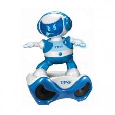 Интерактивный набор с роботом DiscoRobo Лукас Диджей, синий, укр. язык (TDV107-U)