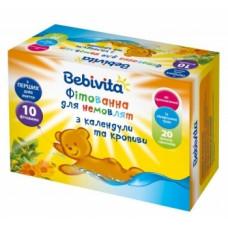 Фитованна для малышей Bebivita из календулы и крапивы, 20х1,5 г (срок годности до 26.03.2020)