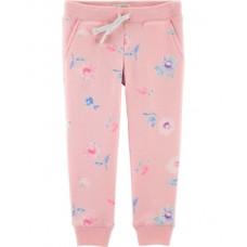 Штаны OshKosh Цветы, 3Т, светло-розовый (26439410)