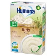 Безмолочная каша Humana Getreibrei Griess органическая рисовая, 200 г (Срок годности до 25.09.2020)