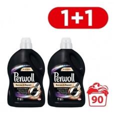 Гель для стирки Perwoll для черных вещей, 2х2,7 л