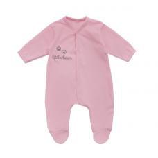 Человечек Мамин Дом Little Bear, хлопок, р.68, розовый (190005)