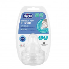Соска Physio, силикон,для каш,6м+ (2шт)