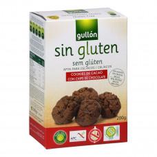 Gullon Печенье с шоколадом без глютена, 200 гр  ТМ: Gullon