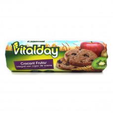 Печенье Gullon Vitalday с крокантом и фруктами 300 г  ТМ: Gullon